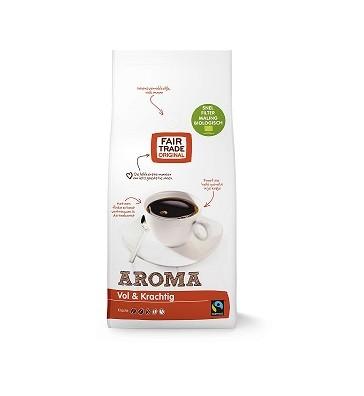 Koffie (gemalen snelfilter) aroma BIO 1kg. Fairtrade