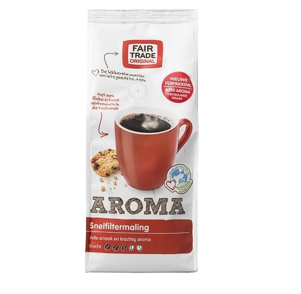 Fairtrade koffie aroma snf 500 gr