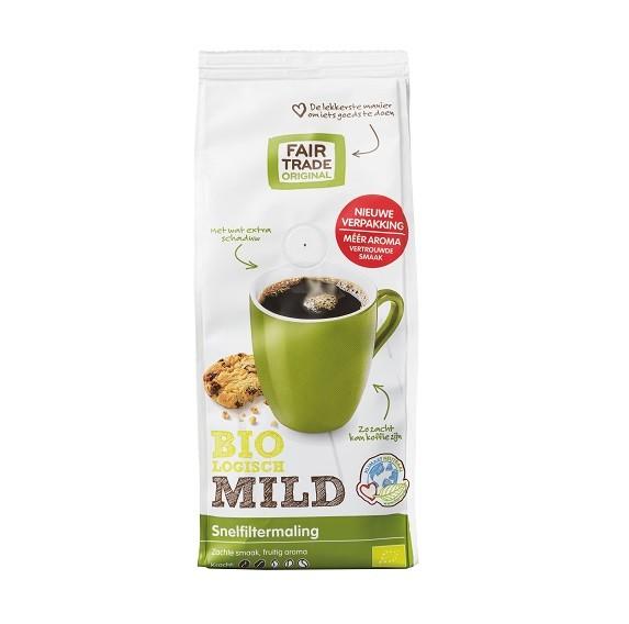 Fairtrade koffie mild snf BIO 250 gr