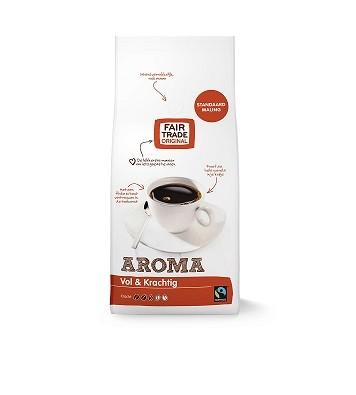Koffie (gemalen) aroma 1kg. Fairtrade