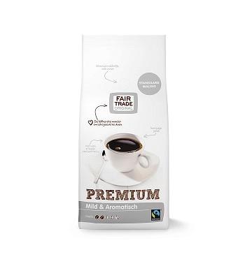 Fairtrade koffie premium (zilver) std 1000 gr