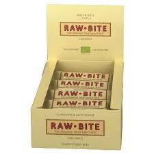 Rawbite Coconut ds. 12 st. van 50gr. Natuurgroothandel