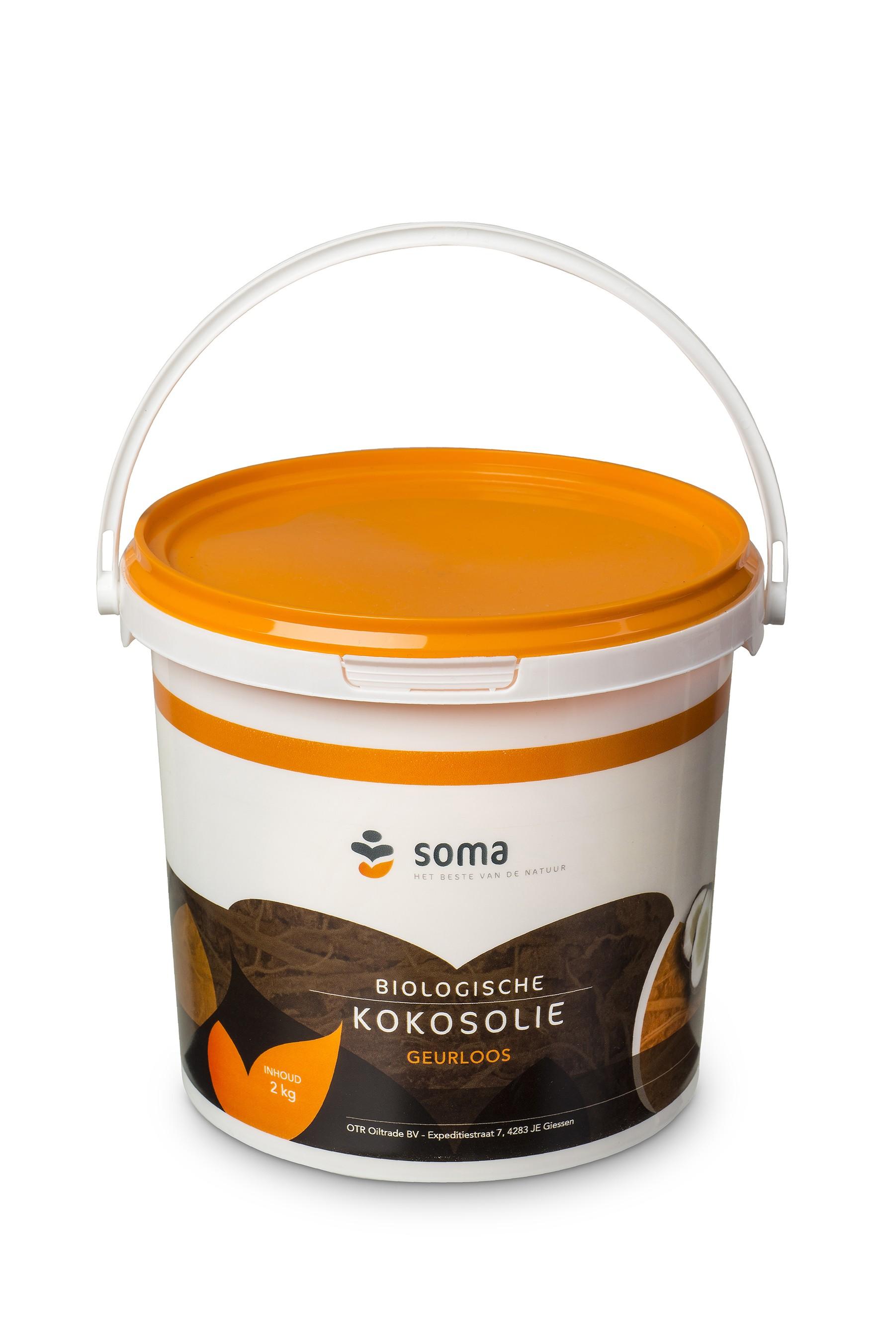 kokosolie emmer BIO 2,2kg. Soma (Bestseller)
