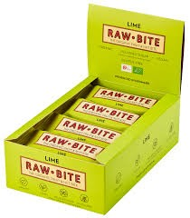 Rawbite Spicy lime ds. 12 st. van 50gr.