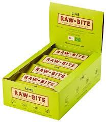 Rawbite Spicy Lime ds. 12 st. van 50gr.
