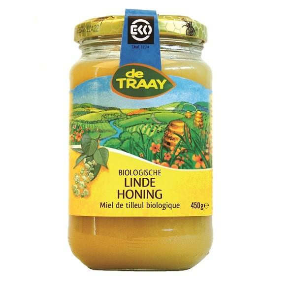 De Traay linde honing eko 450 gr