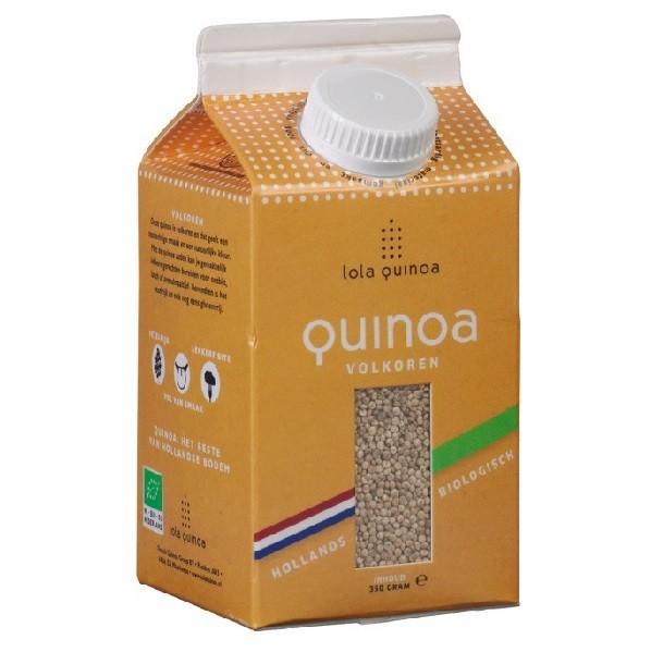 Lola Quinoa volkoren 350 gr/ tht 18 dec 2018