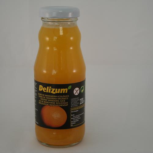 Delizum Mandarijnsap BIO 200 ml