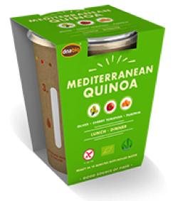 Mediterranena Quinoa instant maaltijd 65gr. Natuurgroothandel