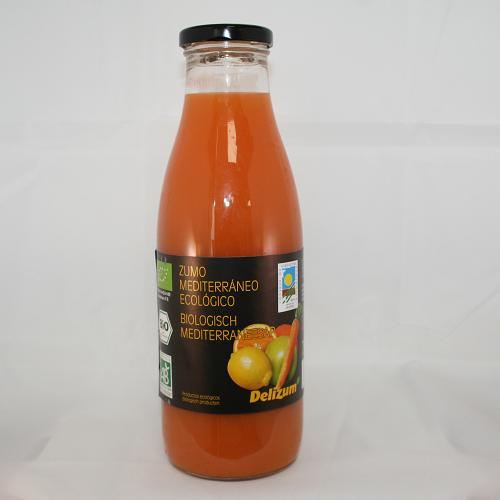 Mediterranee sinaasappelsap BIO 750ml. Delizum