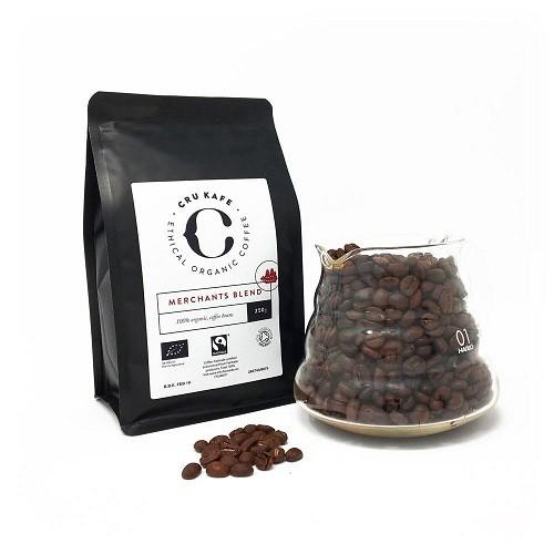 Cru Kafe Merchant's blend BIO bonen 250 gr