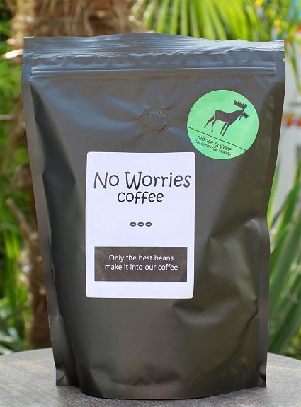 No Worries Moose koffie 500 gr