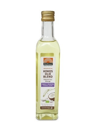 Kokosolie blend ontgeurd BIO 250 ml. Matisson