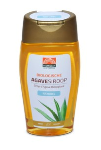 Agavesiroop naturel BIO 250ml. Mattisson
