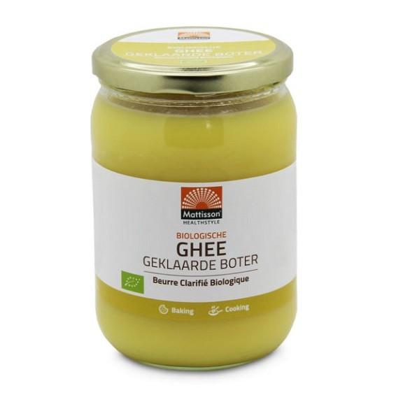 Mattisson Ghee geklaarde boter BIO 500 gr
