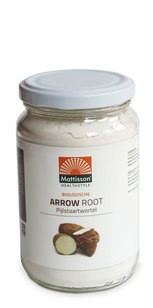 Mattisson Arrow Root pijlstaartwortel poeder BIO 190 gram