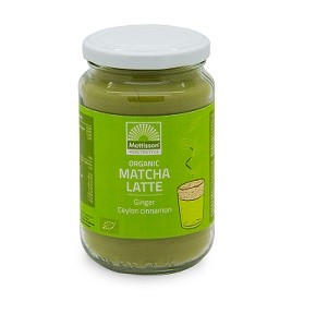 Latte Matcha BIO 150gr. Mattisson