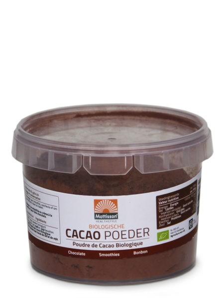 Mattisson cacaopoeder BIO 150 gram