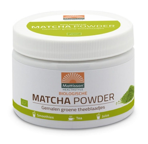 Mattisson Matcha Powder Instant Bio 125g