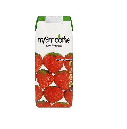 Smoothie aardbei 250ml. mySmoothie