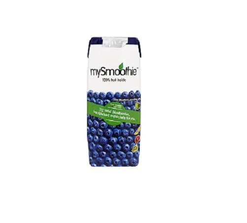 Smoothie blauwe bes 250ml. mySmoothie
