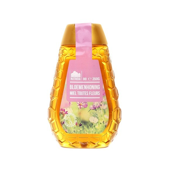 Bloemen honing BIO 350gr. Nutridia