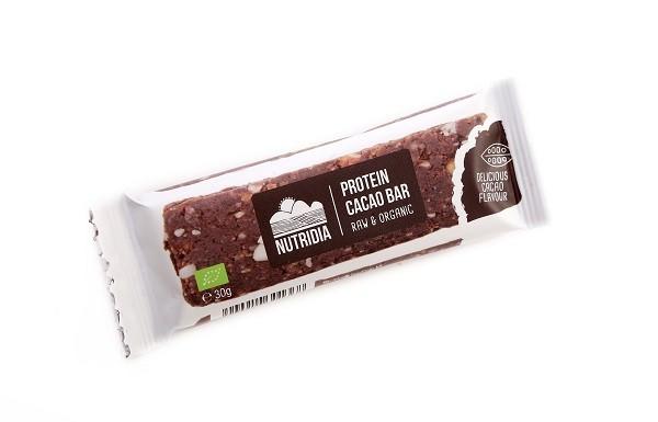 Nutridia Proteinerepen cacao BIO 20x30 gr
