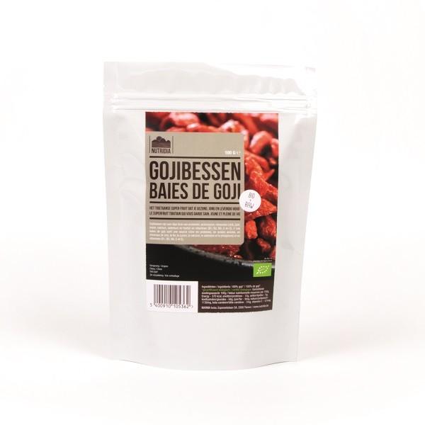 Gojibessen BIO & RAW 100gr. Nutridia