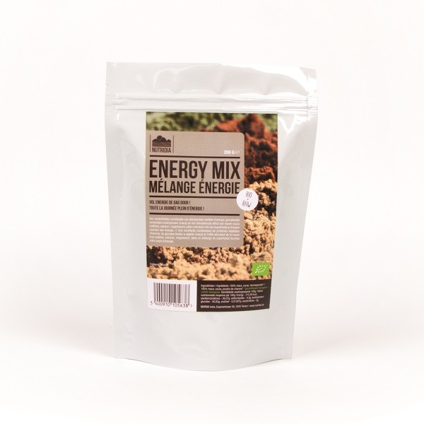 Nutridia Energy mix BIO & raw 200 gr