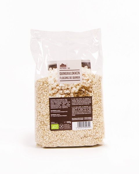 Quinoavlokken glutenvrij BIO 500gr. Nutridia
