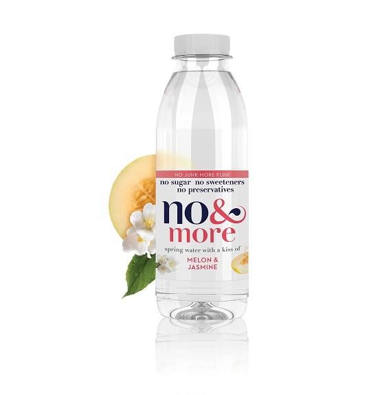 Meloen & jasmjn bronwater 1 ltr. No & More