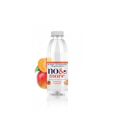 Tangerine & mango bronwater 500ml. No & More