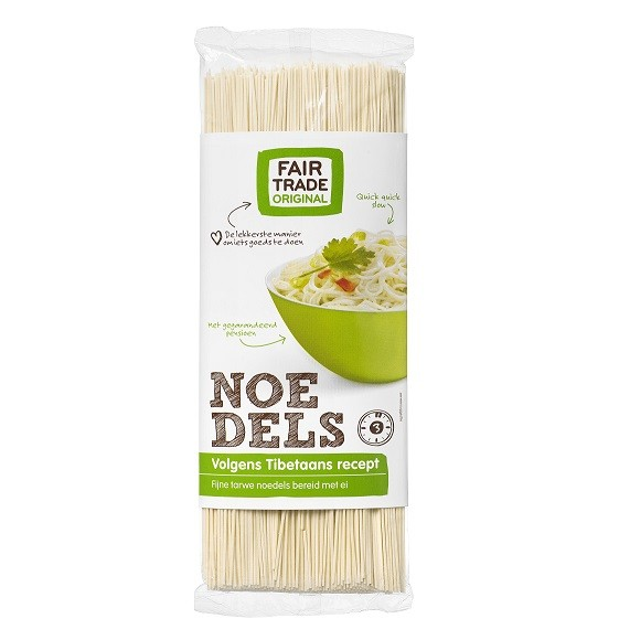 Noedels Tibetaans 250gr. Fairtrade