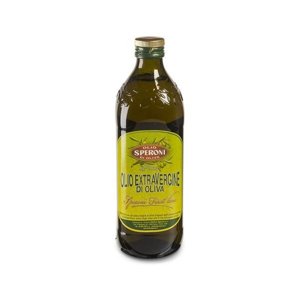 Olijfolie extra vierge fles 1liter. Speroni