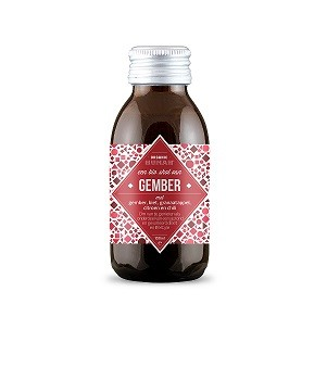 Organic Human Gember vitamine shot 100 ml/ tht 29 nov 2018