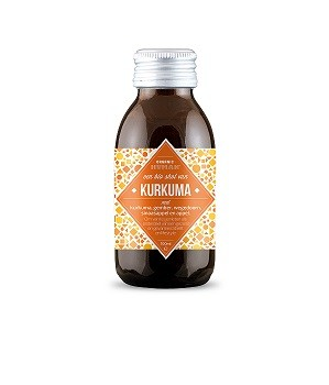 Organic Human Kurkuma vitamine shot 100 ml/ tht 23 nov 2018