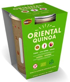 Oriental Quinoa instant maaltijd 65gr. Natuurgroothandel
