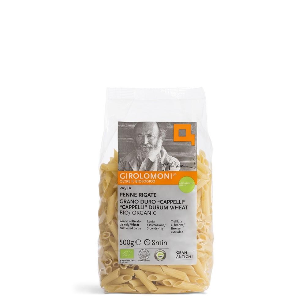 Pasta Penne rigate Cappelli BIO 500gr. Girolomoni
