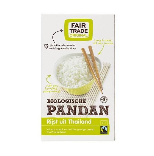 Fairtrade pandan rijst bio 400 gr