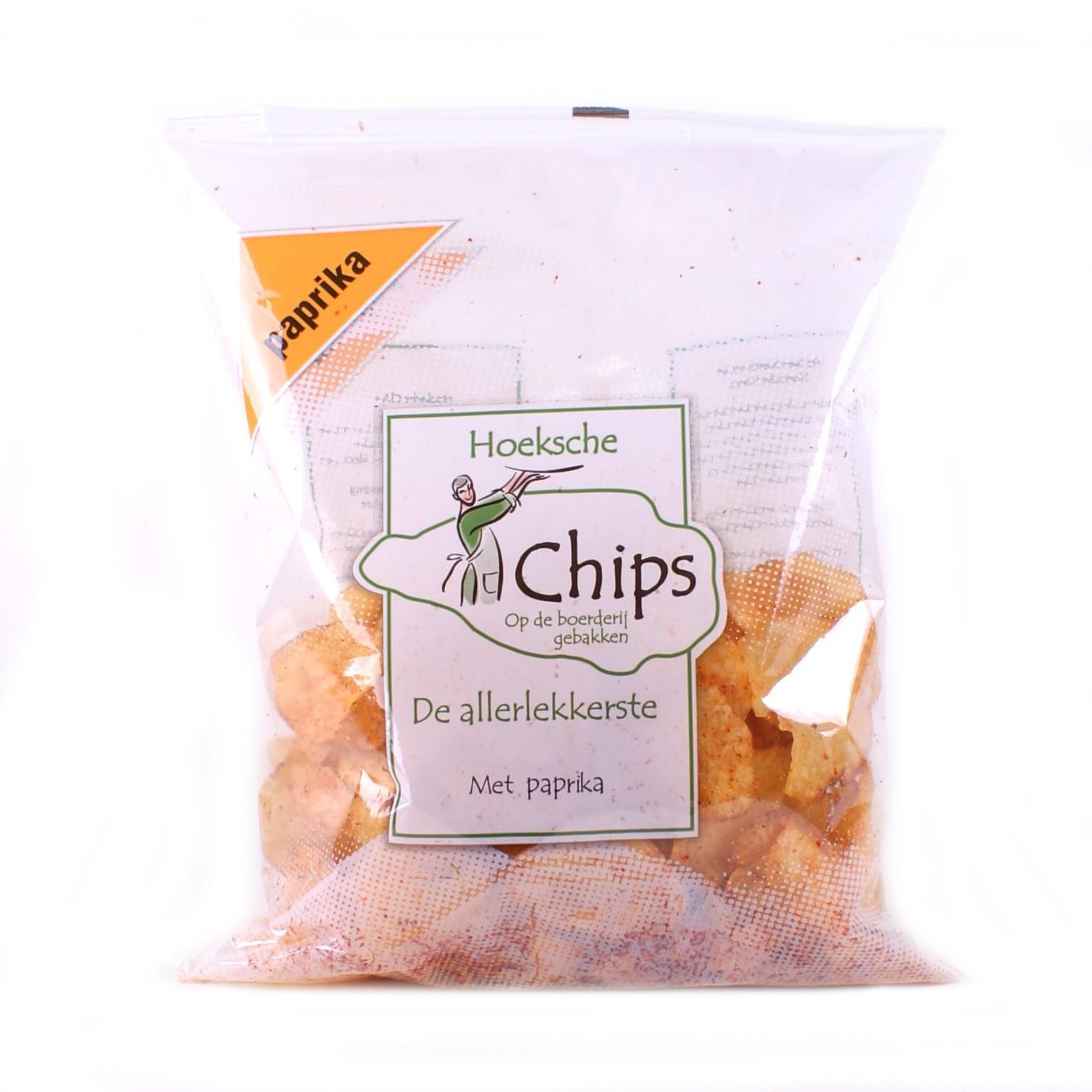 Hoeksche Chips paprika 150 gr