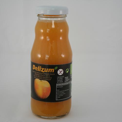 Delizum Perziksap BIO 200 ml