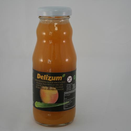 Delizum Perziksap Aloë Vera BIO 200 ml