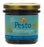 Pesto met zeealgen en daslook