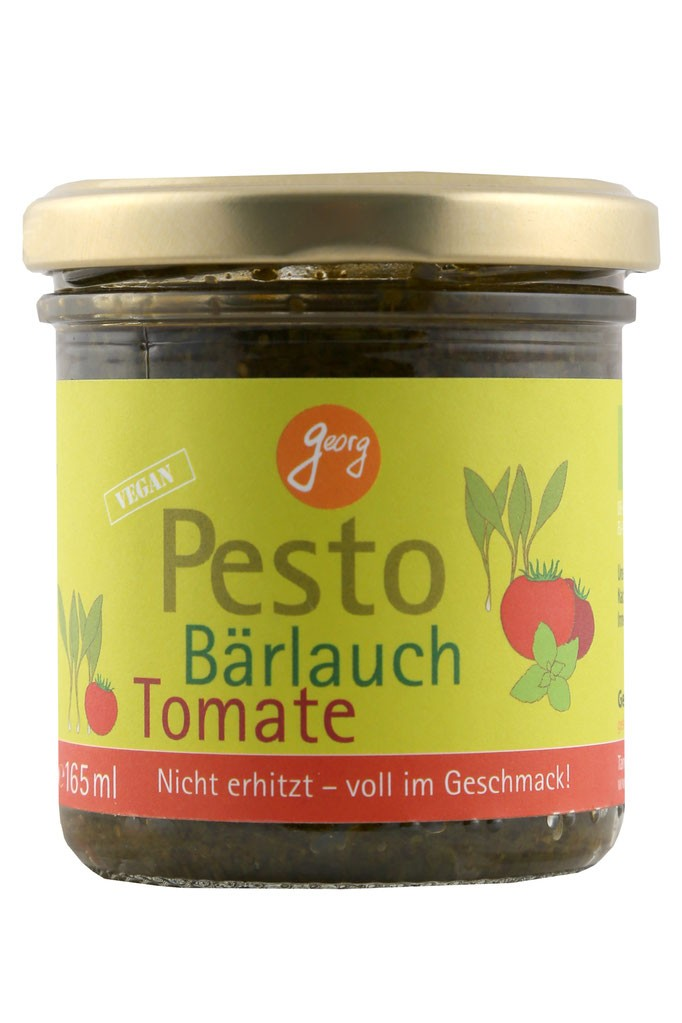 Pesto daslook-tomaten BIO 165.ml George Thalhammer