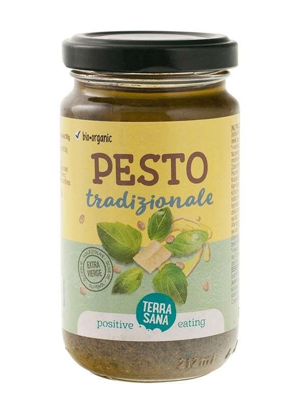 Saus Pesto Tradizionale 180gr. TerraSana