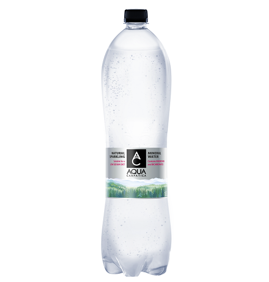 Aqua Carpatica bronwater bruisend 1.5 liter(pet)