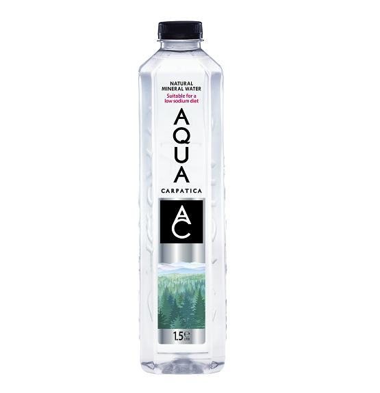 Aqua Carpatica bronwater plat 1,5 liter(pet)