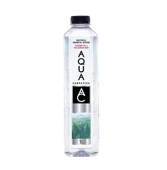 Aqua Carpatica bronwater plat 1 liter(pet)