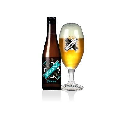 Bier Pilsener De Leckere BIO doos 24 stuks * 250ml