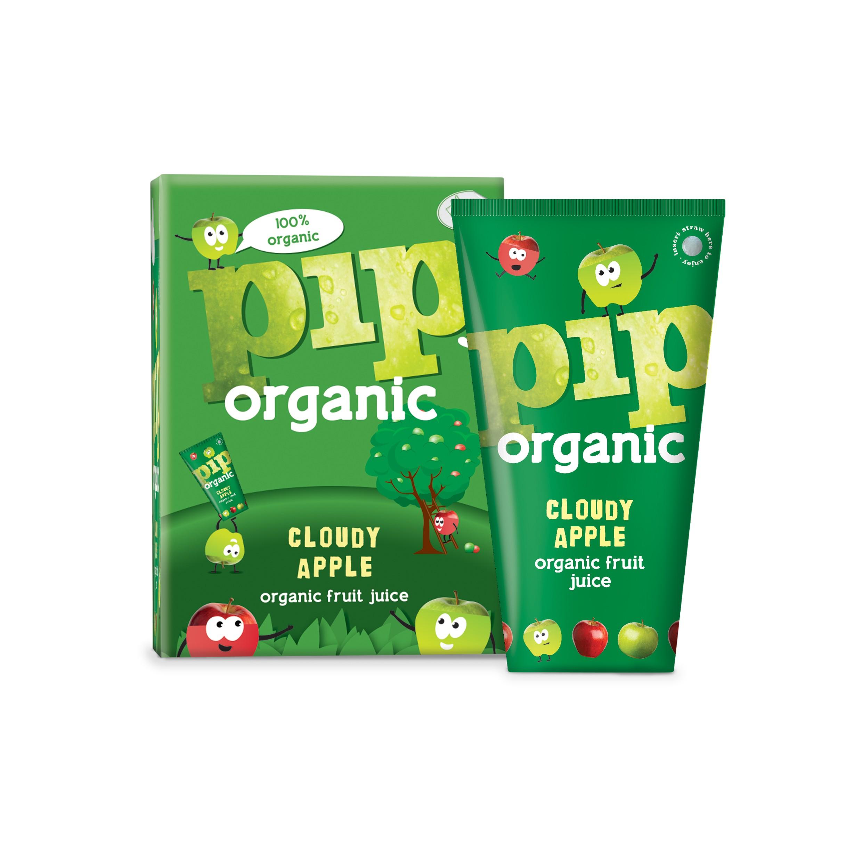 Appelsap Cloudy BIO 4 x 180ml. Pip Organic